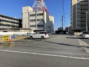 車塚町 山中駐車場